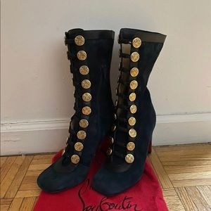 Authentic Christian Louboutin Crazy Boots